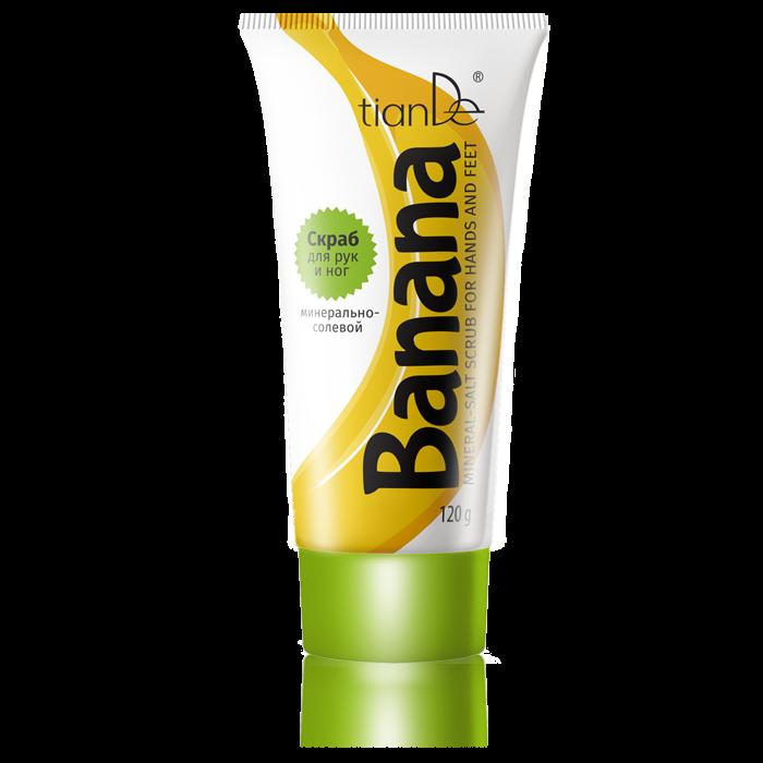 "Peeling s minerální solí :""banán"" dozodo.cz"