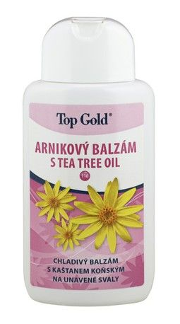 Arnikový balzám s Tea Tree Oil