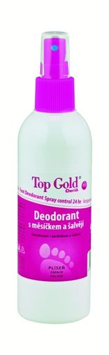 Top Gold Deodorant s měsíčkem a šalvějí