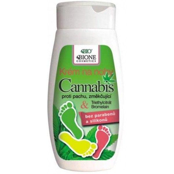 Krém na nohy CANNABIS ,proti pachu,změkčující