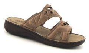 Pantofle Aurelia BT 22 BEIGE, vel. 37, 38, 39
