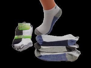 Kotníčkové bambusové ponožky SPORT - cena za 3 pack |  | 40 - 43, 43 - 47