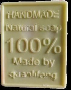 Glycerínové s nápisem - pistácová barva | aroma Zelený čaj